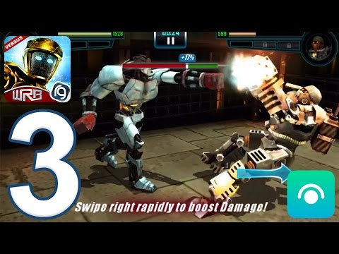 Real Steel World Robot Boxing - Gameplay Walkthrough Part 3 - Underworld 1: Completed (iOS, Android)