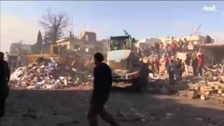 60 قتيلاً و50 جريحاً بانفجار في إعزاز بريف حلب