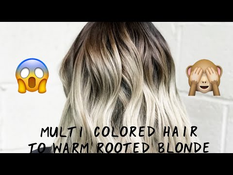 How To Get Temporary Multi-Colored Hair from YouTube · Duration:  50 seconds