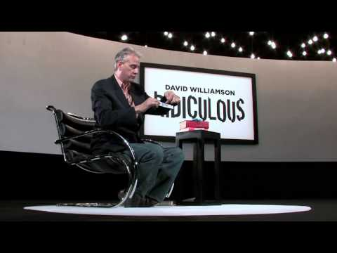 Ridiculous DVD By David Williamson
