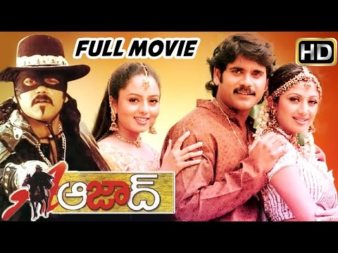 Azad Telugu Full Length Movie || Nagarjuna , Soundarya || Telugu Hit Movies