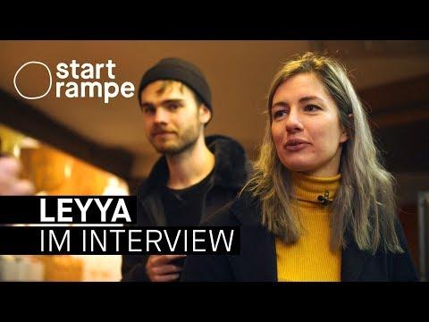 """Leyya über ihr 2. Album """"Sauna"""" und peinliche Ex-Lieblingsplatten (Interview - Startrampe)"""