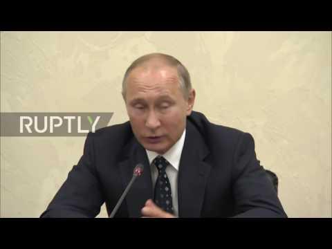 Russia: Putin initiates push for sport across Russia