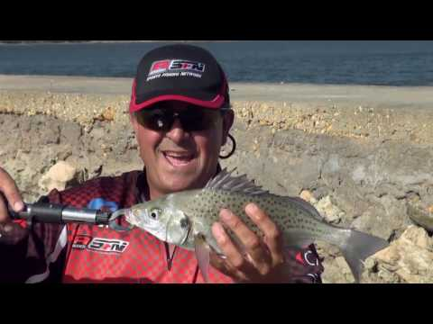 ASFN Estuary - Targeting Grunter in the Breede River on Light Tackle