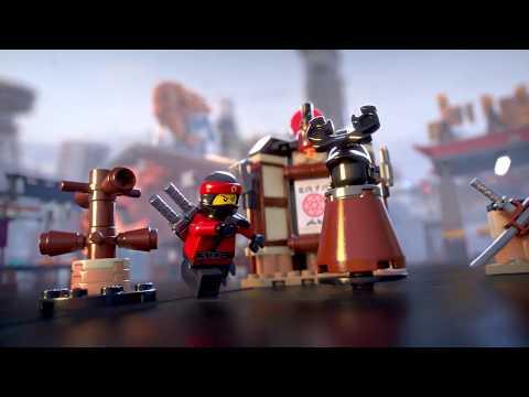LEGO The Ninjago Movie 70606 Ninjago Spinjitzu Training New /& NO BOX