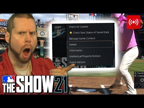 If I lose I DELETE THE GAME! MLB the Show 21 LIVE STREAM