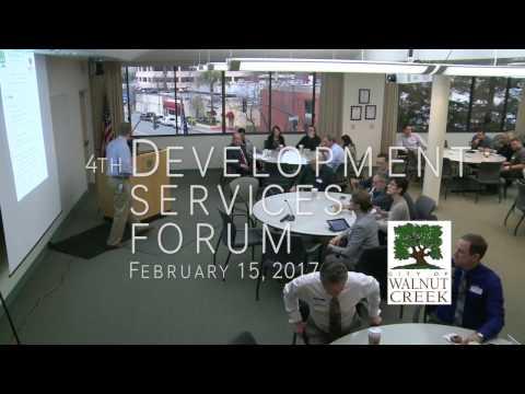 Development Services Forum : February 15, 2017