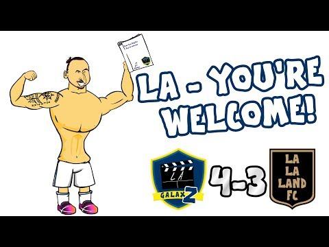 💥LA - You're Welcome!💥 ZLATAN''s Galaxy Debut! (LA Galaxy vs LAFC 4-3 Amazing Volley Goal)