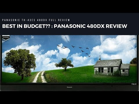 BEST IN BUDGET?? : PANASONIC TH43 ES480DX FULL REVIEW with PROS and CONS
