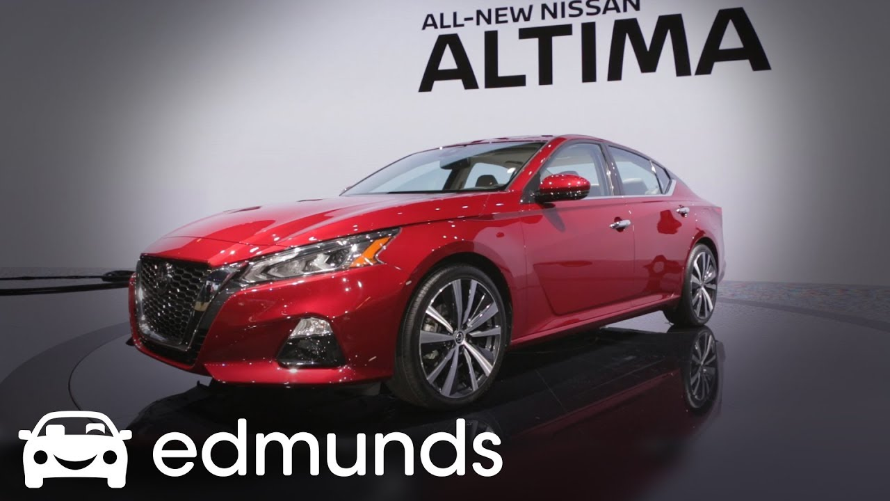 2019 Nissan Altima | First Look | Edmunds