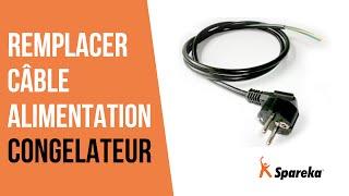 Comment réparer votre congélateur - Remplacer le câble d'alimentation ?