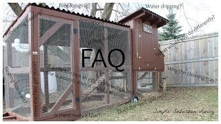 Easy To Clean Suburban Chicken Coop - Faq