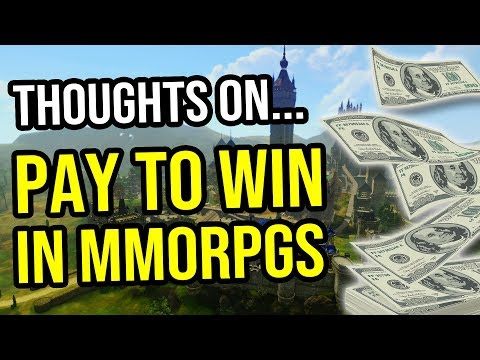 Pay To Win MMORPGs - How Much Of A Problem Are They?