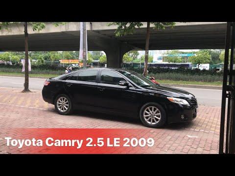 Sedan hạng sang   Bán Toyota Camry 2.5LE 2009 nhập Mỹ   Giá 765tr   LH 0968.831.280 Bình