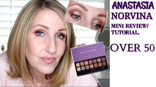 FIRST IMPRESSIONS TUTORIAL ABH NORVINA PALETTE