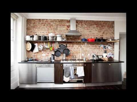 Kitchen design industrial style