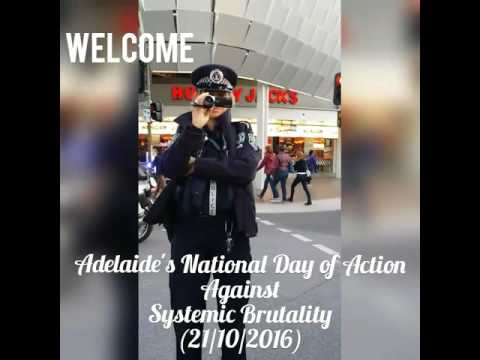 Filming the South Australian Police at a Black Deaths In Custody Protest