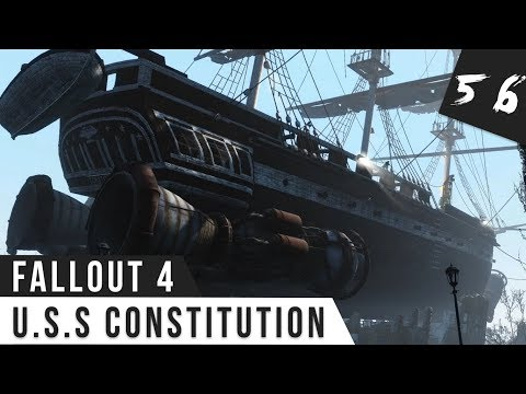 Fallout 4 Gameplay #56 L'U.S.S Constitution! FR