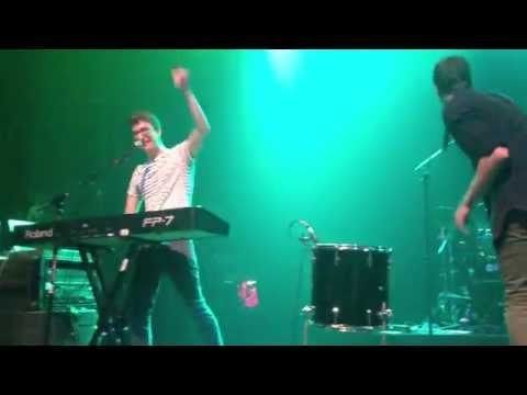 Ignition all about that bass i m ready infinity tour mashup ajr brothers gramercy 10 26 14