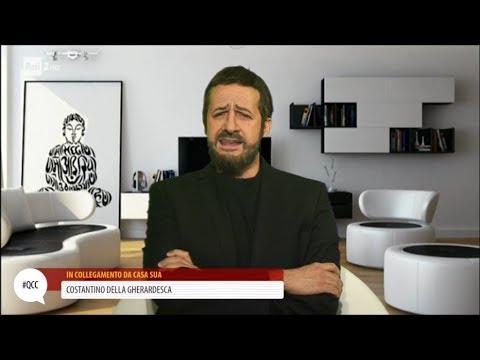 Costantino Della Gherardesca (alias Edoardo Ferrario) - Quelli che il calcio 05/11/2017