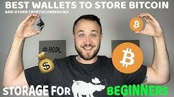 The Best Wallets To Store Bitcoin & Cryptocurrencies For Beginners