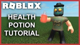 [ROBLOX Tutorial] - Health Potion