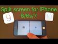 Split screen for iPhone 6/6s/7 (ios 9-10)(Splitify)