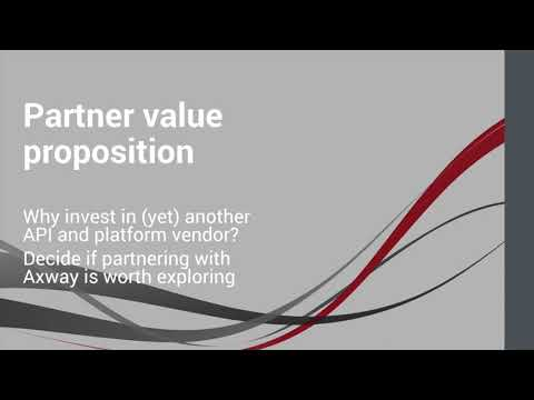 Decide if partnering with Axway is worth exploring