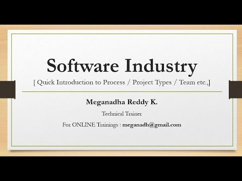 Software Company - Project Process / Types of Software Companies / SDLC Process