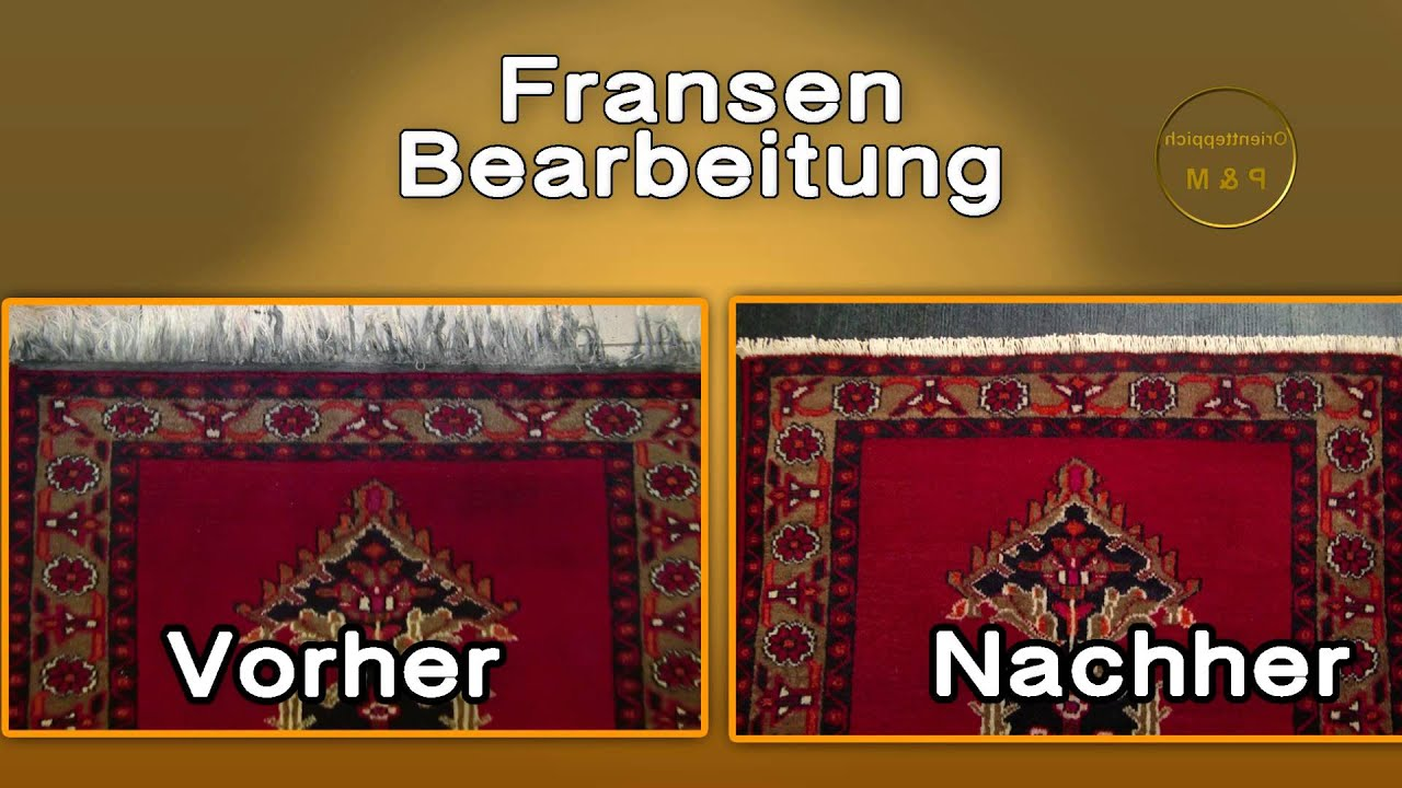 teppich fransen bearbeitung p m youtube. Black Bedroom Furniture Sets. Home Design Ideas