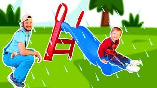 Rain Rain Go Away Song #16 | Mirik Yarik Nursery Rhymes & Kids Songs