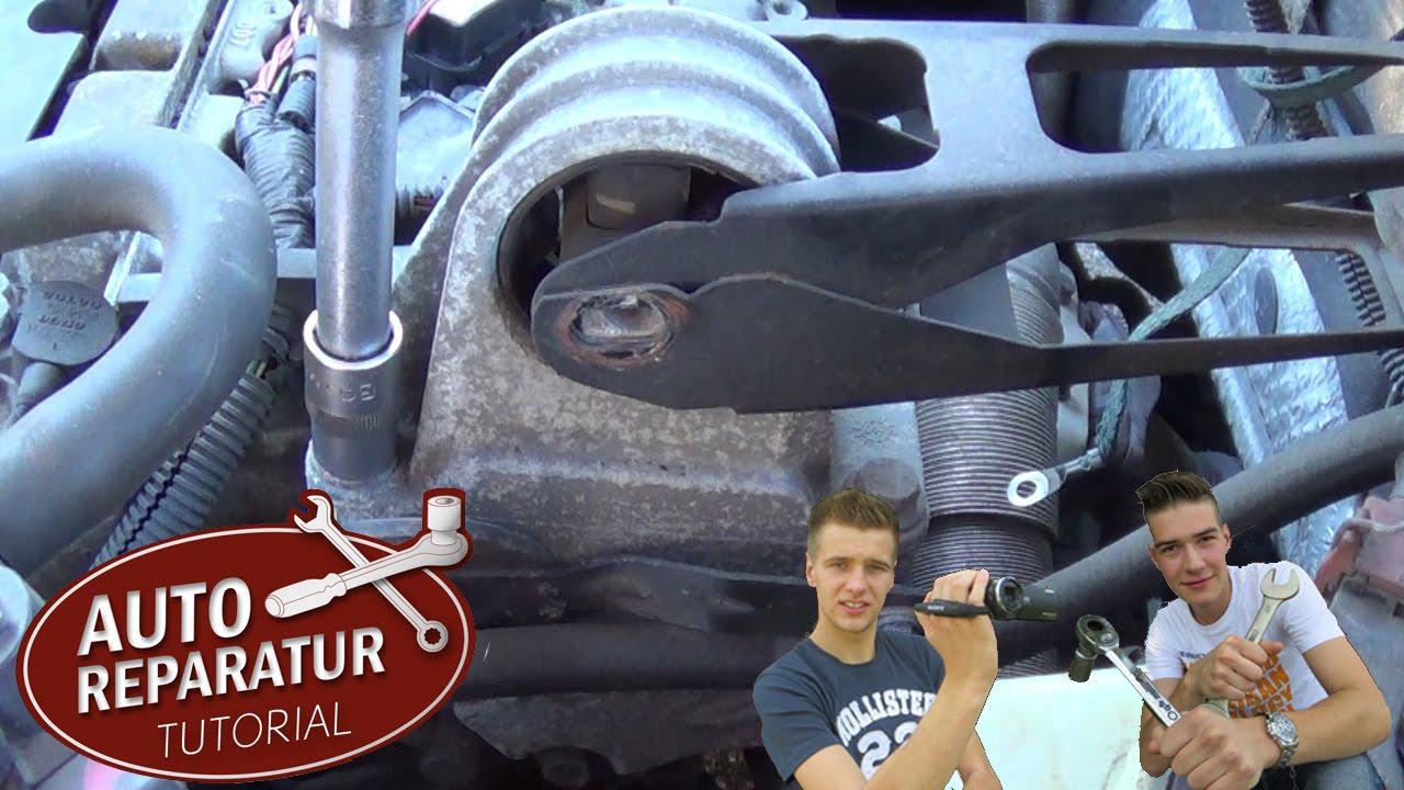 motorlager wechseln - oberes motorlager defekt | volvo | auto