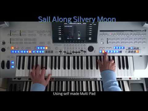 Sail Along Silvery Moon - Billy Vaughn - instrumental cover tyros 4