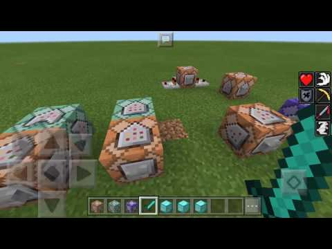 How to Use and Craft: Command Blocks in Minecraft PE