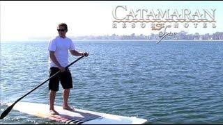 San Diego Activities - Paddleboarding at Catamaran Resort