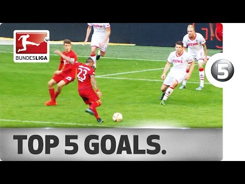 Top 5 Goals - Reus, Vidal and More with Incredible Strikes
