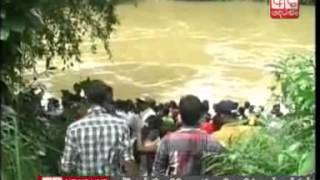 Three drown as boat capsizes in Kalu Ganga, 8 rescued