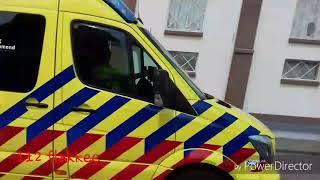 Ambulance met spoed in Melissant.