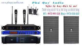 Phú Qúy Audio hướng dẫn ghép Equalizer với âm ly chi tiết.
