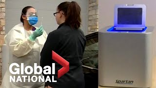 Global National: Jan. 23, 2021 | Canadian-made rapid COVID-19 test approved for use