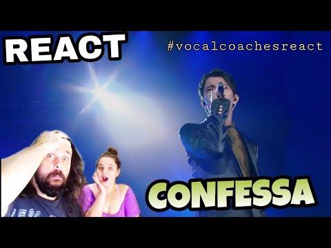 VOCAL COACHES REACT: DIMASH - CONFESSA