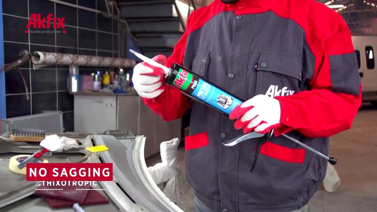 Akfix P645 PU Sealant Auto body seam sealing by Akfix Sealants and Adhesives