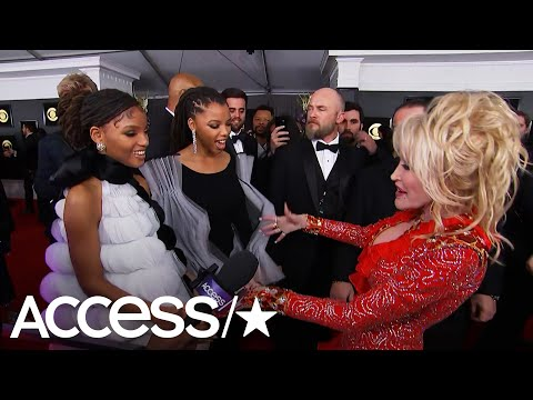 Chloe X Halle Gush Over Meeting Dolly Parton At The 2019 Grammys! | Access Mp3
