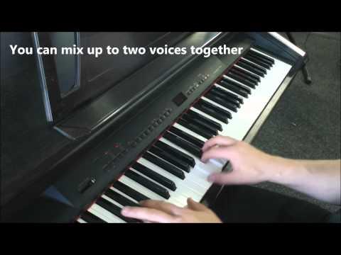 Yamaha Clavinova CLP511 Digital Piano Demonstration