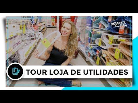 TOUR EM LOJA DE UTILIDADES PRA CASA | OSF - Rafa Oliveira