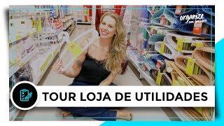 TOUR EM LOJA DE UTILIDADES PRA CASA   OSF - Rafa Oliveira