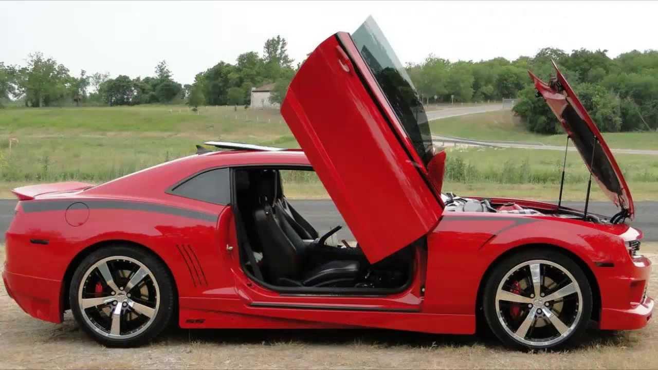 & Chevrolet Camaro Lambo Door HD - YouTube