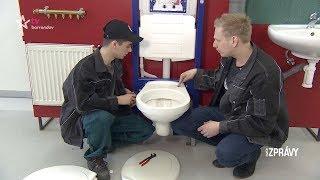 V dílně s profíkem - výměna toaletního sedátka