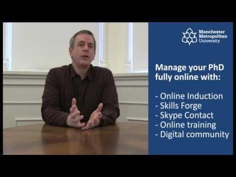 Distance learning PhD programmes at Manchester Metropolitan University