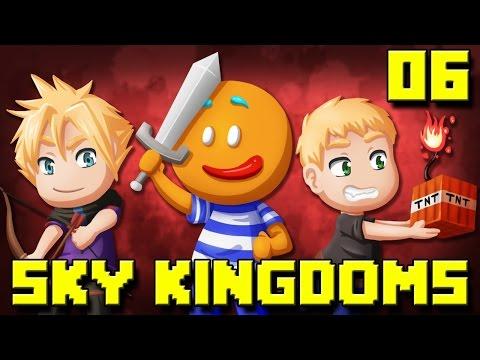 Sky Kingdoms : La Fusion de FK et SkyDef #06 LA MURAILLE DE DALLES